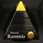 Diamond Ramisis Black and Gold
