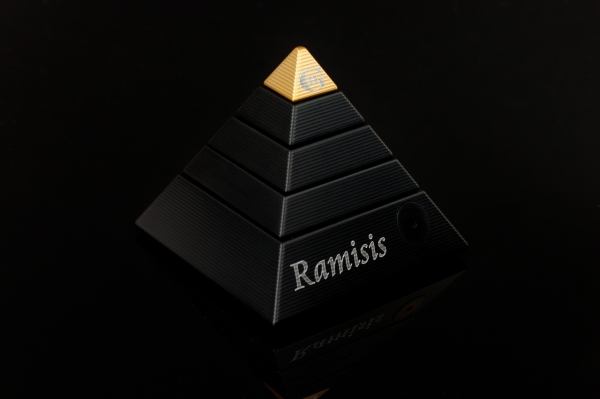 Black & Gold Ramisis - High Quality Metal Puzzles