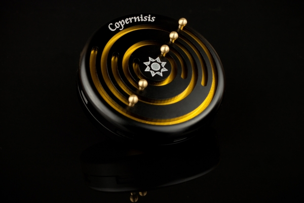 Copernisis Black and Gold  - High Quality Metal Puzzles
